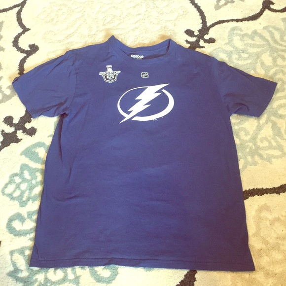 b3cfa4af MENS • NHL • Tampa Bay Lightning Tee (Johnson- #9)